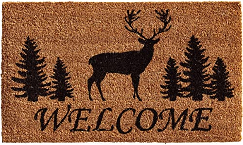 Outdoor Indoor Doormat Southwest Rustic Cross Western Native American Welcome Non-Slip Doormats Floor Mat Home Carpets Rug For Entrance Front Door Kitchen Bedroom Garden Bathroom 19.5 X 31.5 Inch