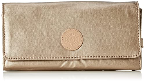 d6219971e Kipling Brownie, Billetera para Mujer, Dorado (REF34C Golden Rod), 19x10x3  cm