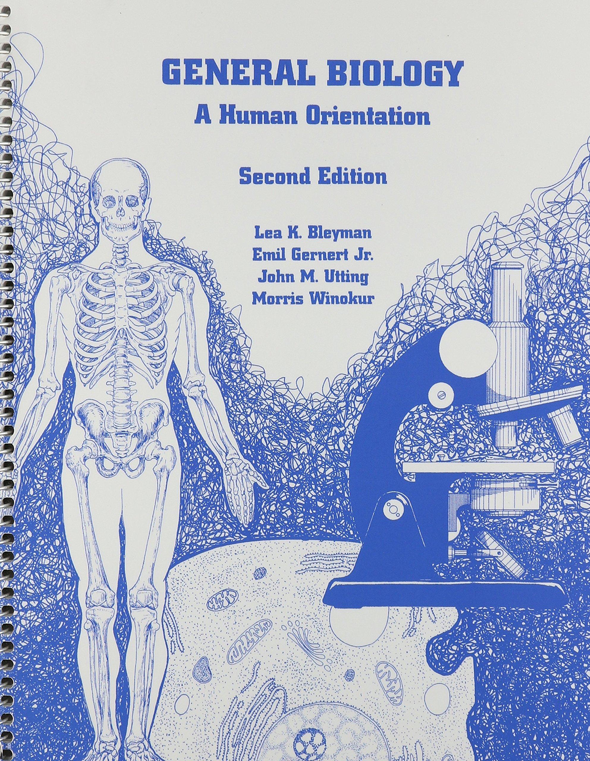 General Biology a Human Orientation pdf epub