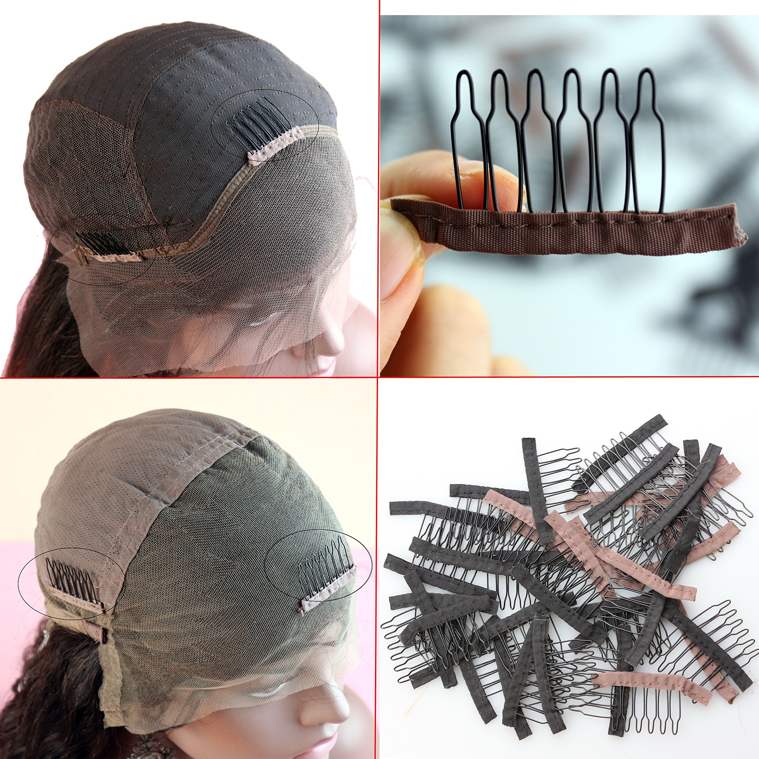 Amazon Com Dreamhair Anti Rust Wig Combs For Making Wig