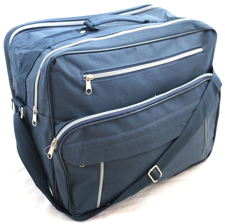 327950daf3 Lightweight Flight Travel Bag Holdall Shoulder Cabin Bag 28 litres (BLACK)