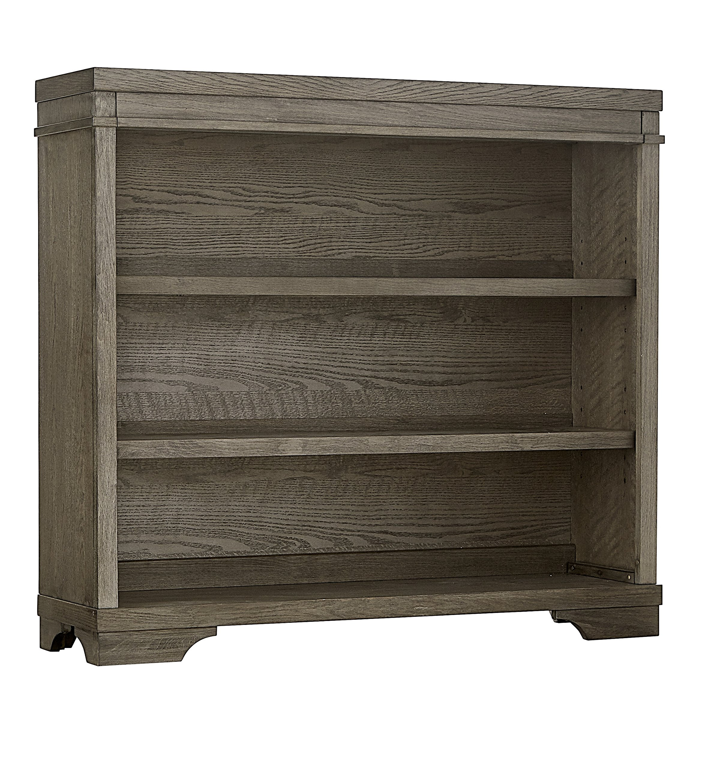 Westwood Design Foundry Hutch or Bookcase, Brushed Pewter
