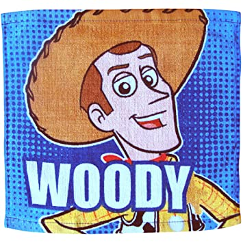 Disney Toy Story para niños muy suave Woody y Buzz Lightyear toalla para la cara de franela lavar a: Amazon.es: Hogar