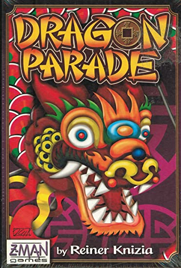 Z-Man Games - Dragon Parade: Amazon.es: Juguetes y juegos