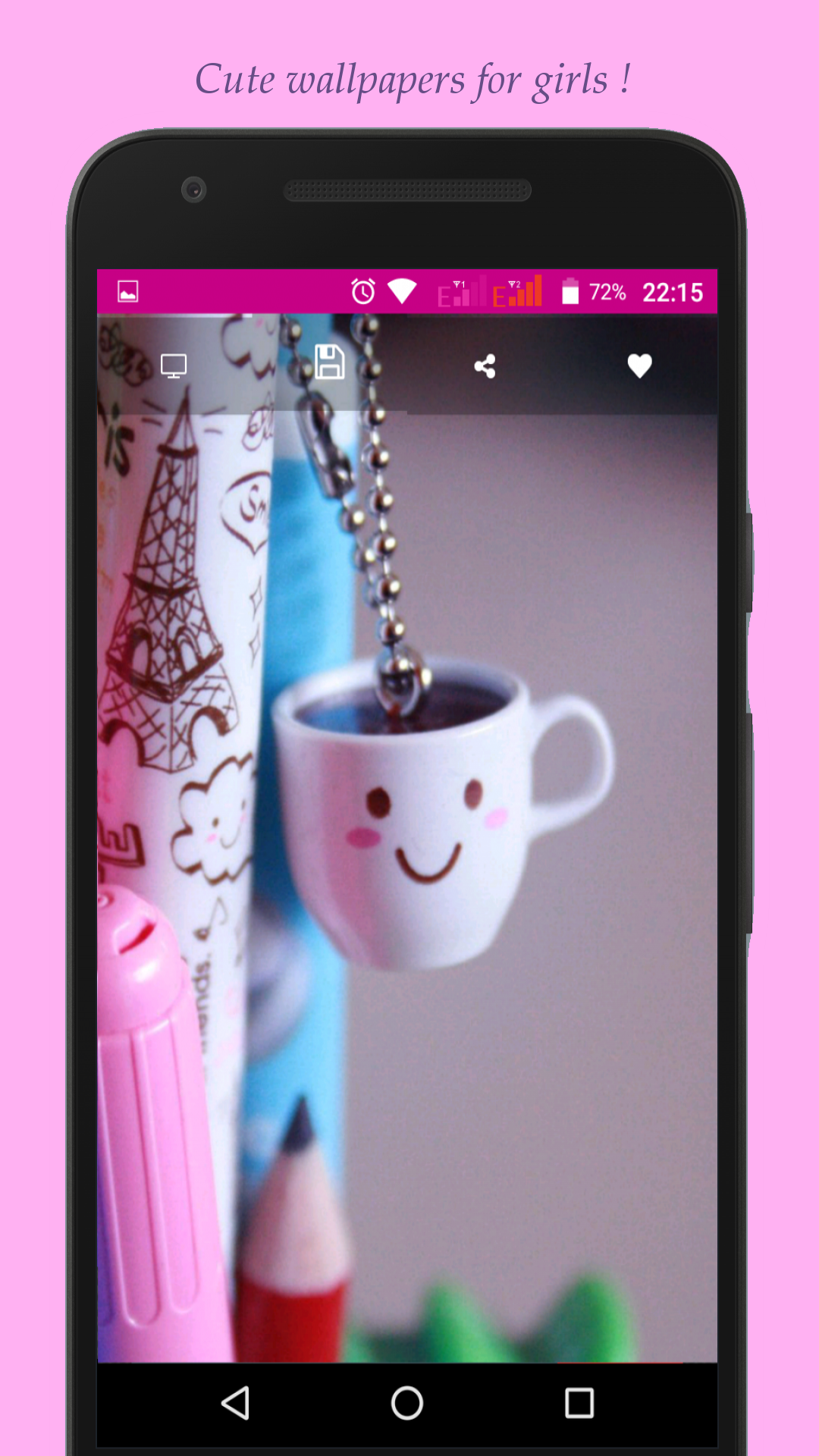 Amazon Com Cutest Wallpapers For Girls Appstore For Android