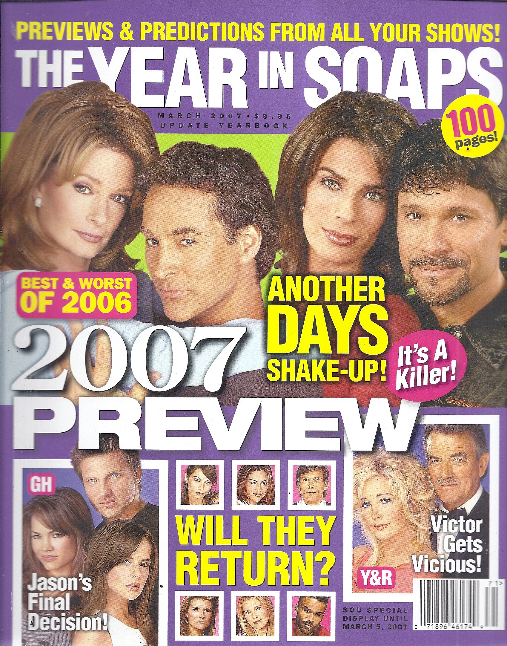 The Year in Soaps 2007 Preview Magazine (Soap Opera Update Special - March 2007) pdf epub