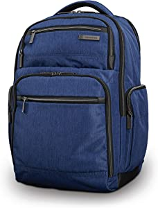 Samsonite Modern Utility Double Shot Laptop Backpack, True Navy, One Size
