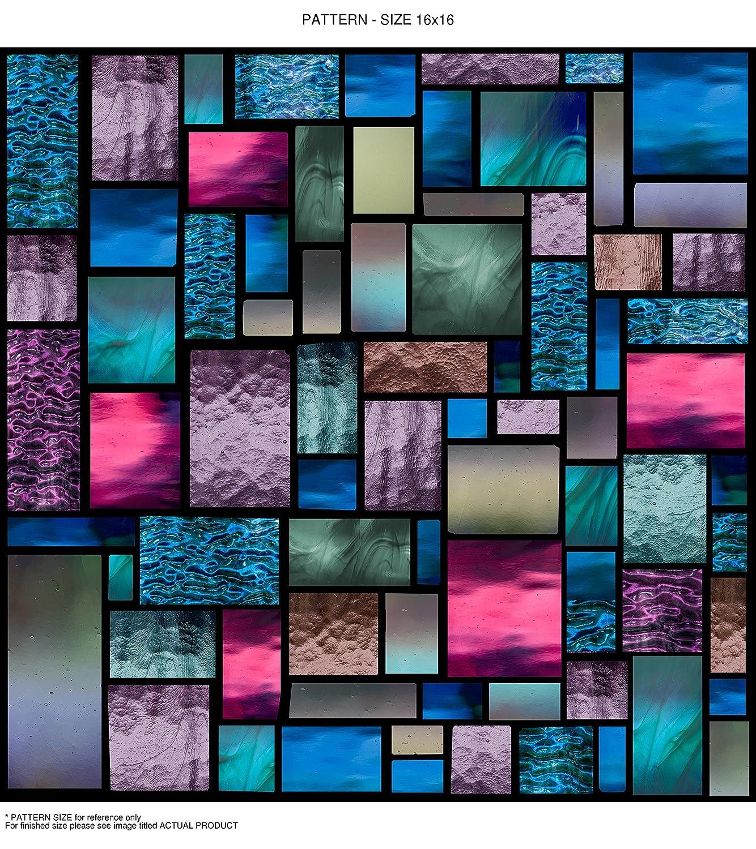 WindowPix WF107-18x12 18x12 Decorative Static Cling Window Film by Windowpix B00UZE67GC 18 x 12