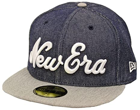 d35ba5ba0 New Era 59Fifty Denim Pack NE Fitted Cap (7) at Amazon Men's ...