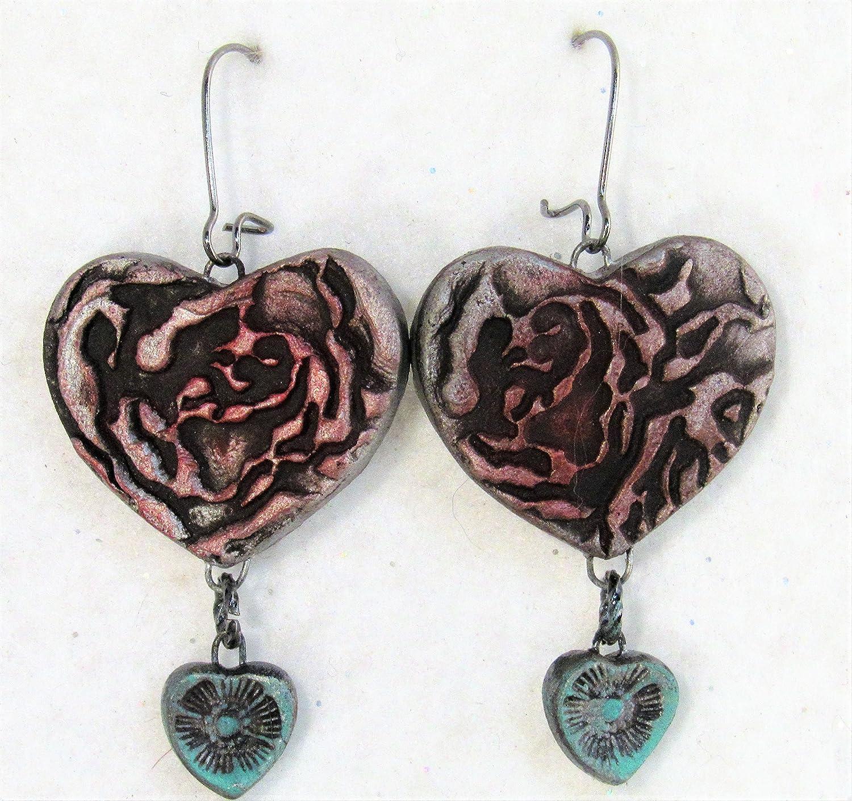 Special Floral Design Exclusive Gift Gift for Valentine Original Turkish Ceramic Handmade Gift Unique Design Handmade Ceramic Necklace