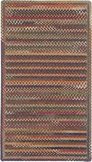 "product image for Capel Rugs Kill Devil Hill Cross Sewn Rectangle Braided Area Rug, 5 x 5"", Multicolor"
