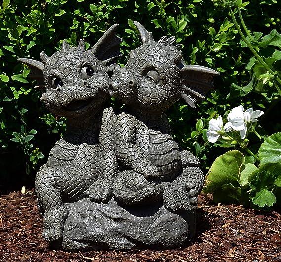MystiCalls by Mayer Chess - Juego de Dragones para jardín (2 Unidades): Amazon.es: Jardín
