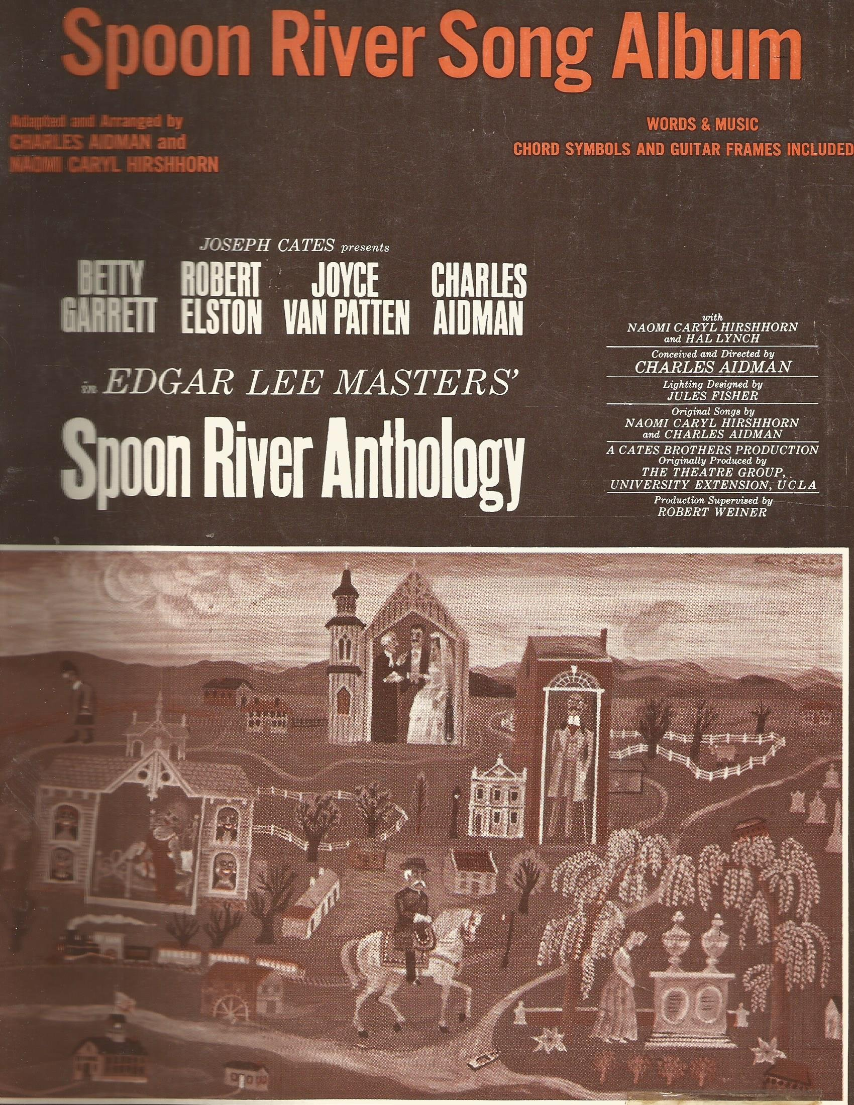spoon river song album 1956 piano vocal chords