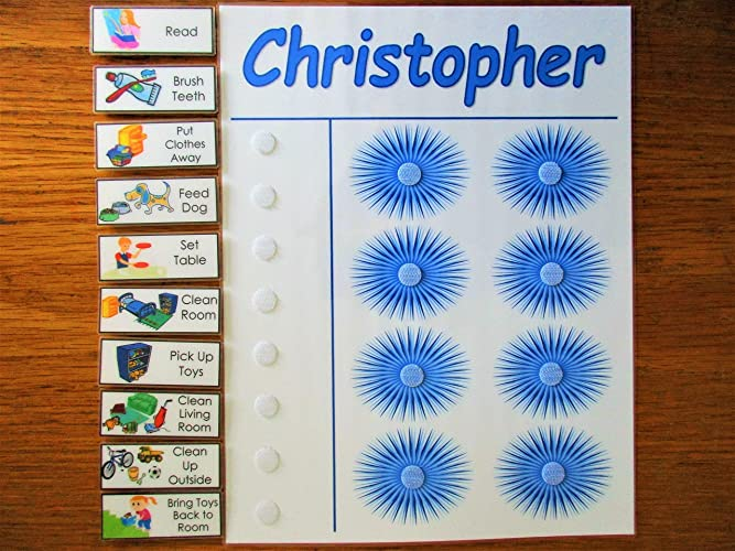 amazon com kids daily schedule to do list chore chart you choose