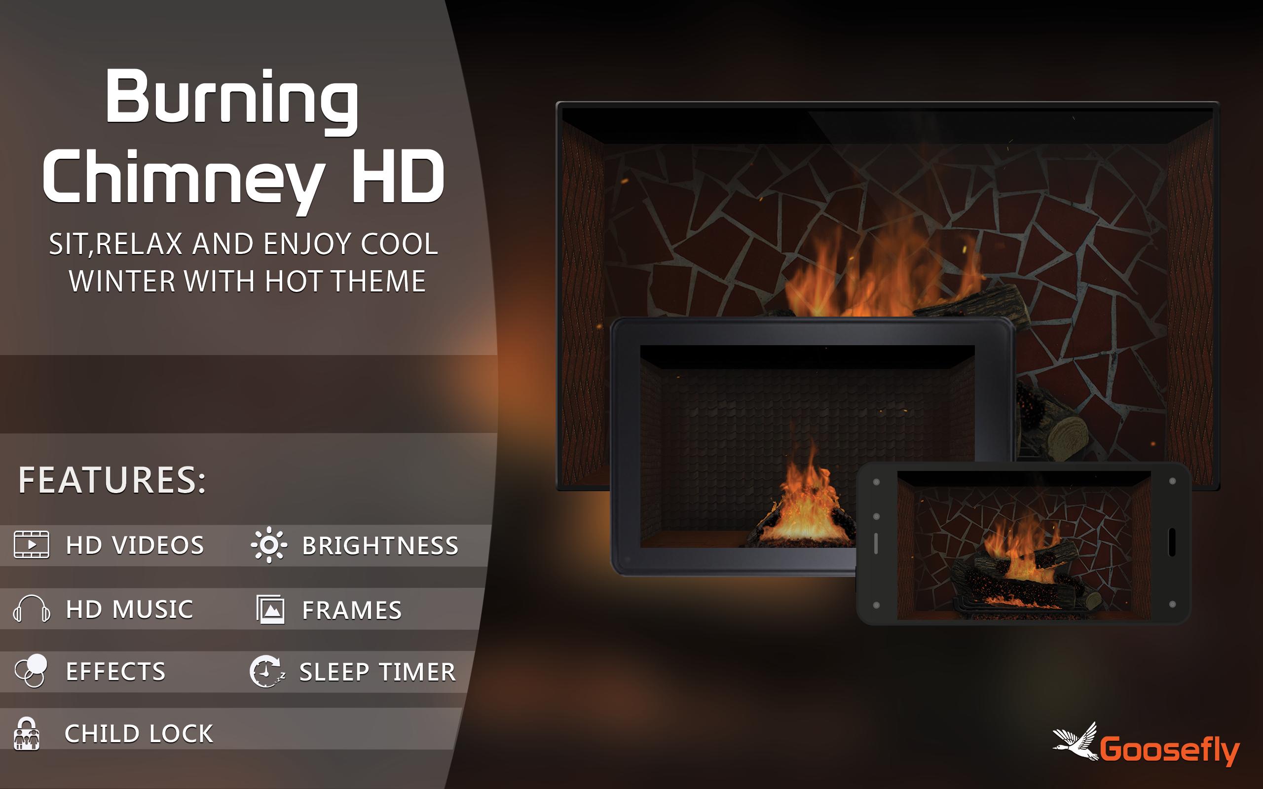 chimenea sin chimenea: caliéntate en las vacaciones de invierno y disfruta de la Navidad en tu televisor hdr 8k 4k y dispositivos de fuego como fondo de pantalla y tema de mediación