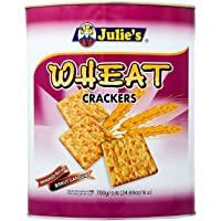 Julie's Wheat Crackers Biscuits Tin, 700g