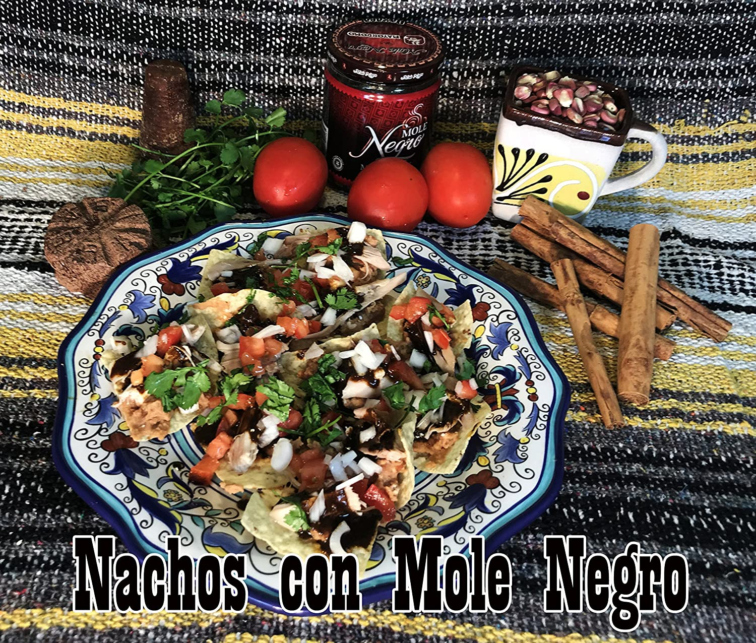 Amazon.com : Mole Negro Mayordomo 450 gr (Black Mexican Mole Sauce) (2) : Grocery & Gourmet Food