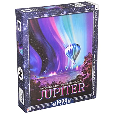 New York Puzzle Company - NASA Jupiter - 1000 Piece Jigsaw Puzzle: Toys & Games