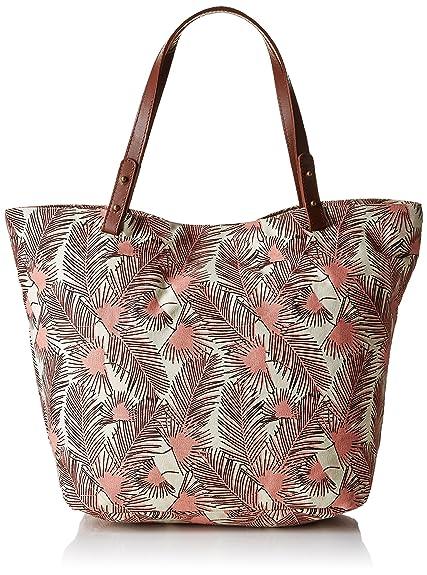 Chloe y Bag Tamaño bolsos multicolor Uno es Shopping Multicolor Palm Petite Zapatos Tree Amazon Mendigote OwX5q5