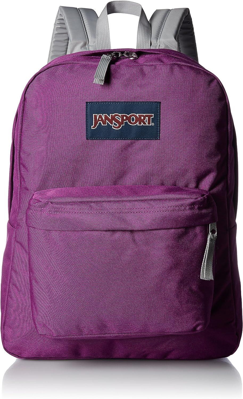JanSport Unisex SuperBreak Purple Plum One Size