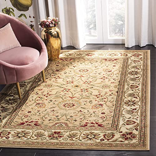 Safavieh Lyndhurst Collection LNH212D Traditional Oriental Beige and Ivory Area Rug 10' x 14'