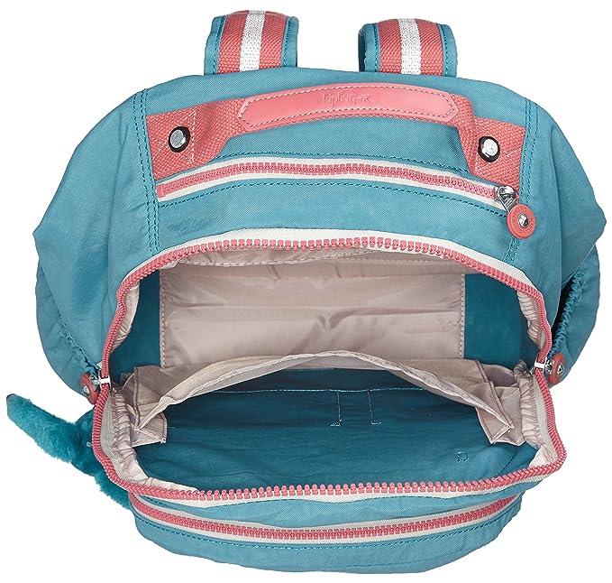 Amazon.com | kipling SEOUL GO Large Backpack Bright Aqua C | Casual Daypacks