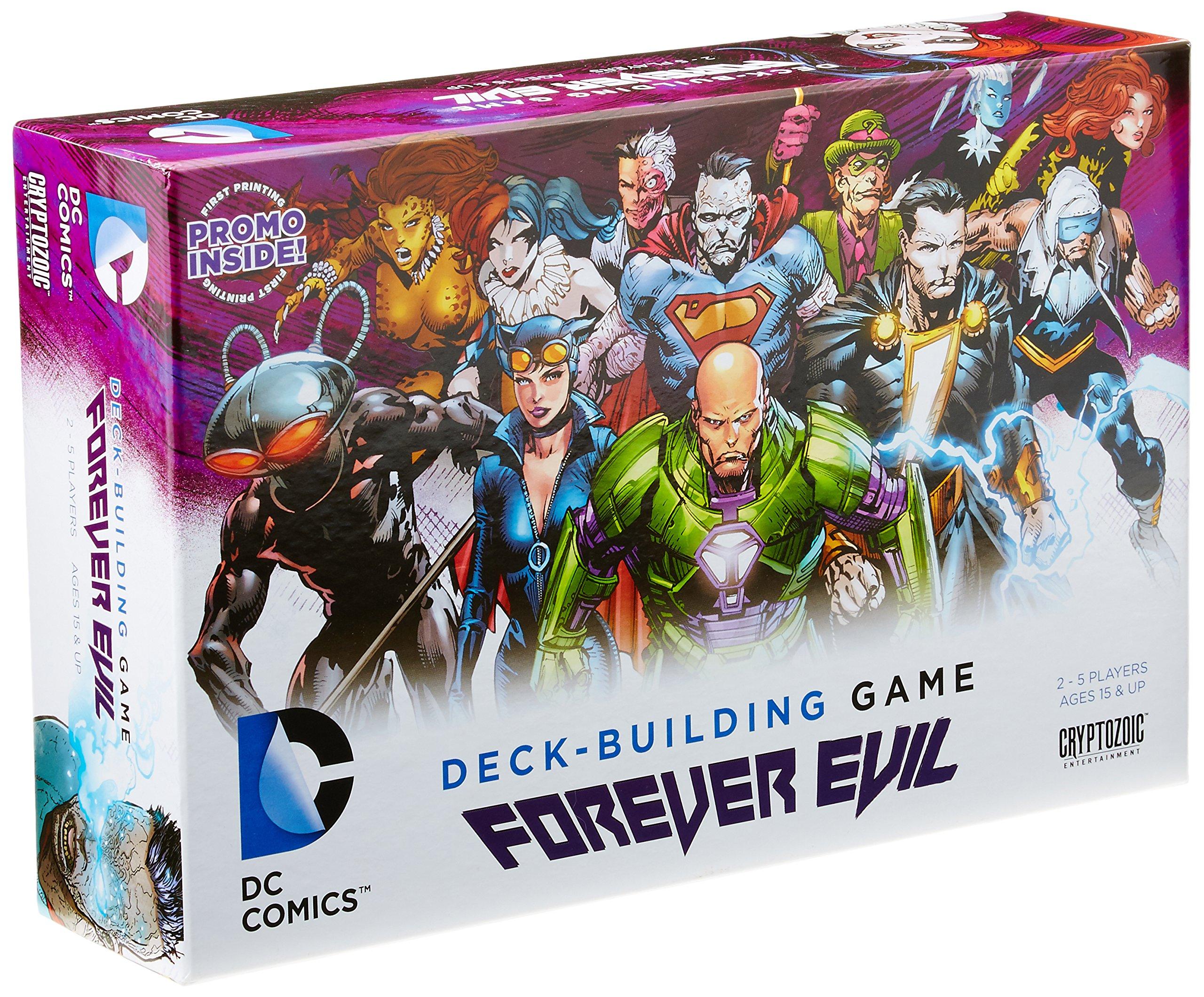 Download Deck Building Game Forever Evil pdf epub
