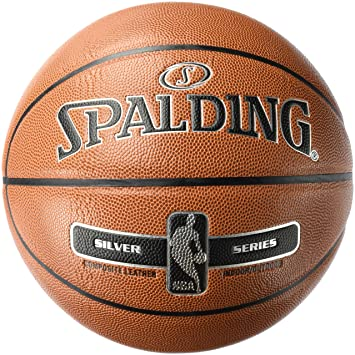 Spalding NBA Silver In/out 76-018Z Balón de Baloncesto, Unisex ...