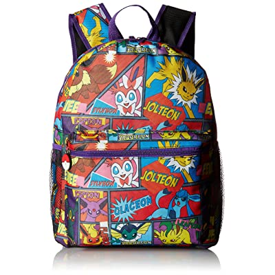 "FAB Starpoint Boys' Multi Character Comic Strip 16"" Backpack 