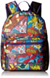 "Pokemon Multi Character Comic Strip 16"" Backpack, Multi (Multi) - KAB23585354"