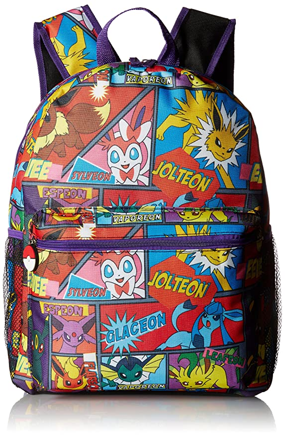 "FAB Starpoint Boys' Multi Character Comic Strip 16"" Backpack"