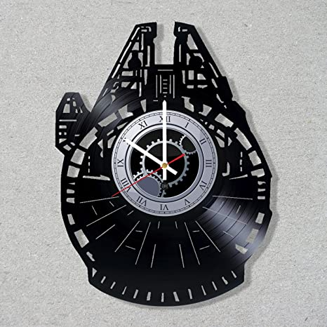 Star Wars /_Exclusive wall clock made of vinyl record/_GIFT