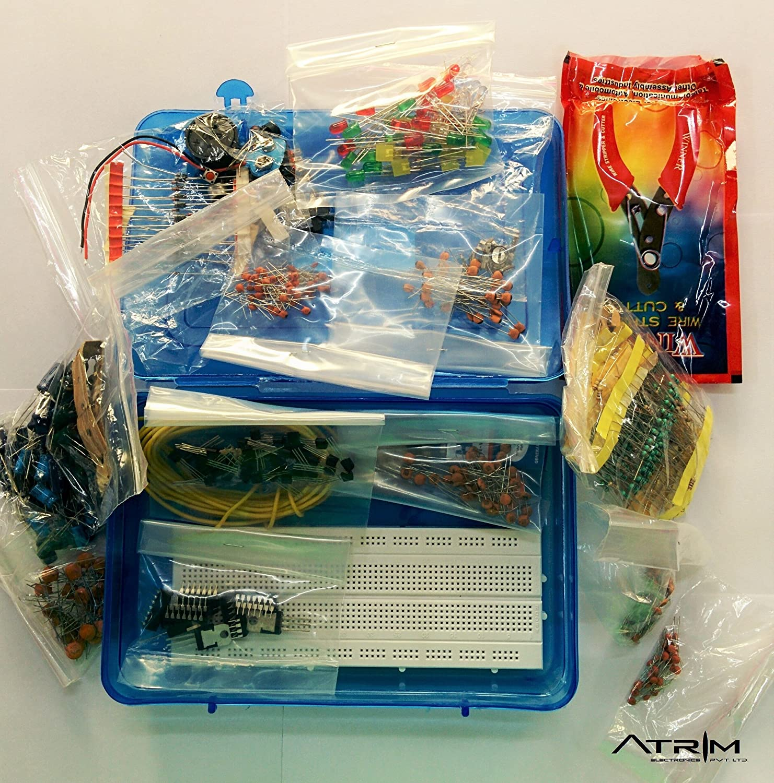 Alpha Shope Ultimate Electronics Kit Diy Components Resistors Breadboard Circuit Test Board Rees52 Wires Capacitors Transistors Industrial Scientific