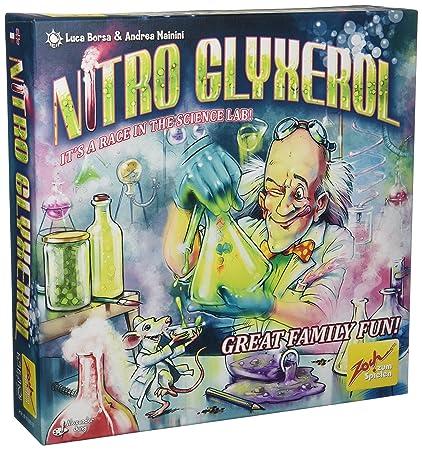 Amazon.com: Zoch Verlag Nitro glyxerol Junta Juego: Toys & Games