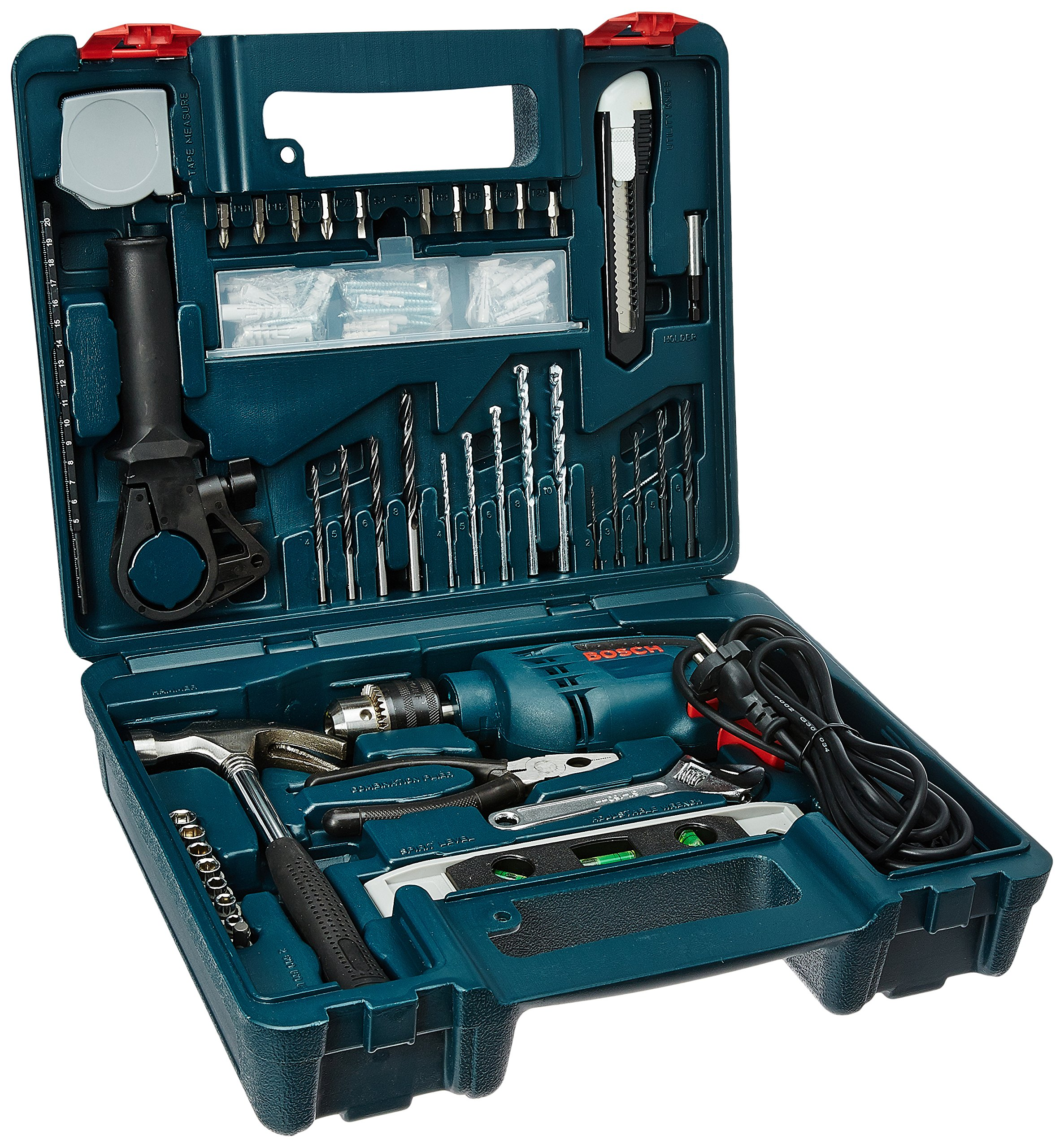 Bosch GSB 600 RE 13mm 600 Watt Smart Drill Kit product image