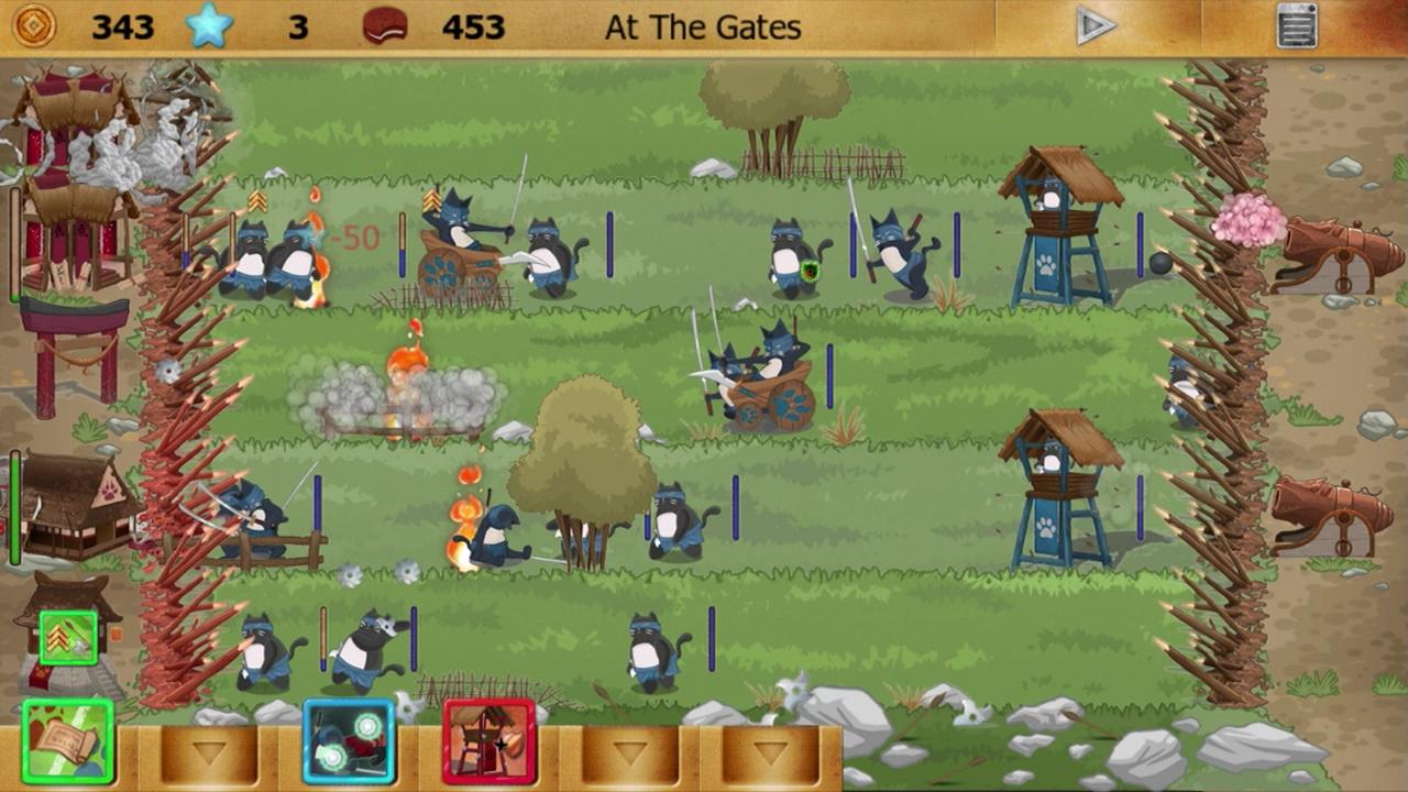 Ninja Cats vs Samurai Dogs: Amazon.es: Appstore para Android