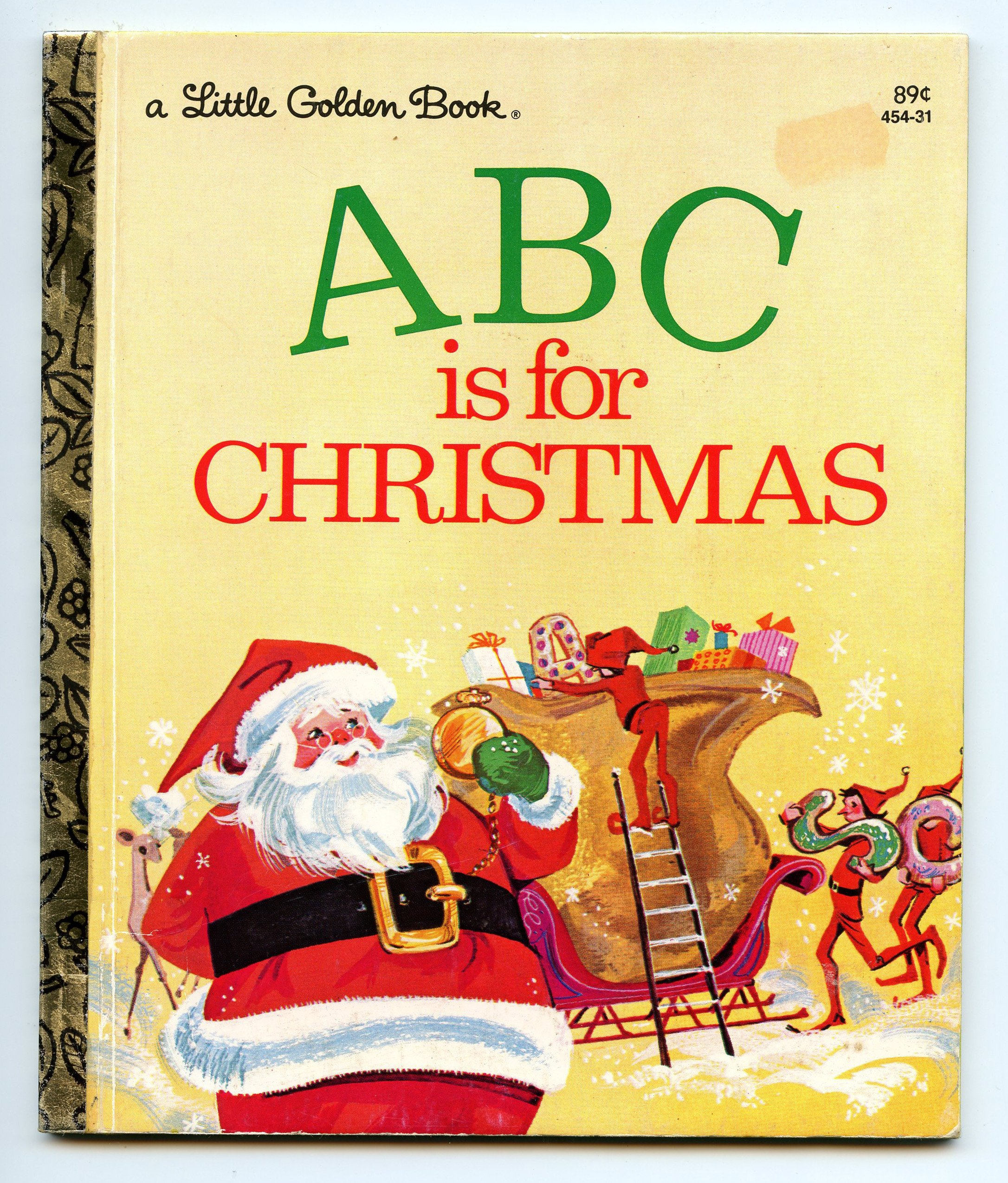 ABC is for Christmas: Jane Werner with illustrations by Sally