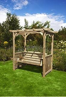 HGG Swing Arbour   Outdoor Patio Solid Wood Garden Furniture
