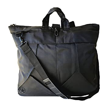 Bolsa para casco de moto y notebook, color negro: Amazon.es ...