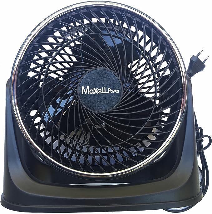 Ventilador de Mesa y de Pared Potente Negro│ MP2066 │ 20 ...
