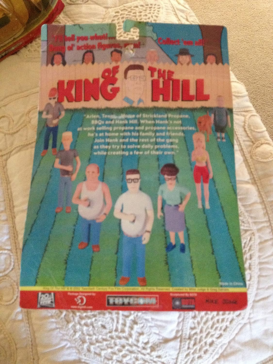 Dale Gribble Action Figure Toycom SG/_B000YPS9WW/_US King of the Hill
