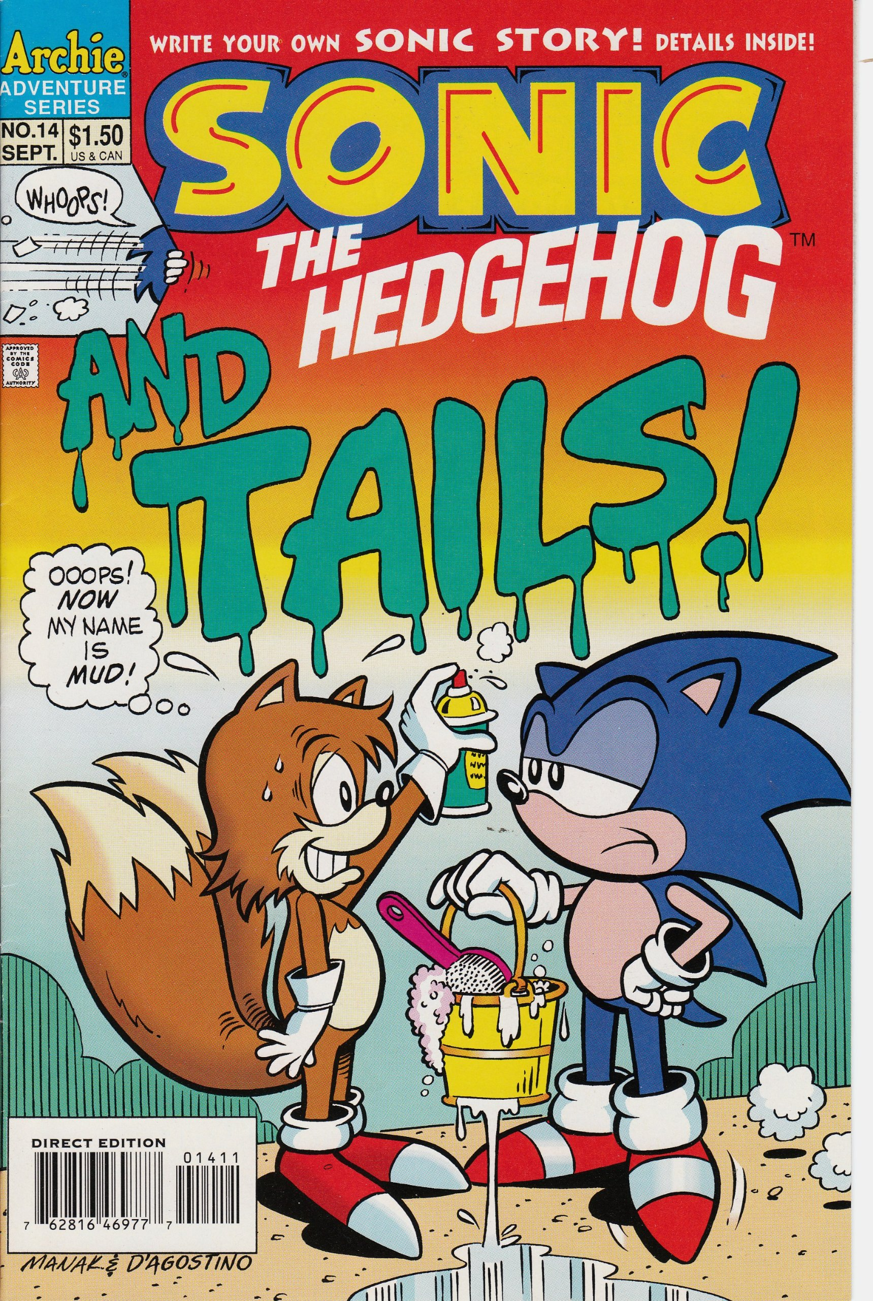 Tails Taste Of Power Sonic The Hedgehog Issue 14 Angelo Decesare Art Mawhinney Amazon Com Books