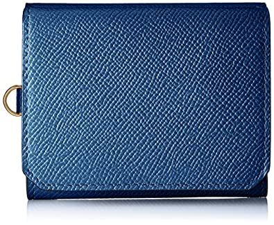 e4c5e6c0d5d4 Amazon | [ゾンネ] 三つ折り財布(小銭入れ付) SOZ003 Blue | Sonne(ゾンネ) | 財布