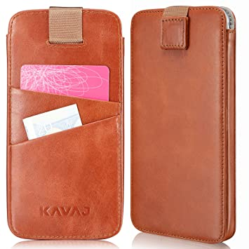 online retailer 218f7 251cc KAVAJ iPhone 8/7 / 6S / 6 Holster Case Leather