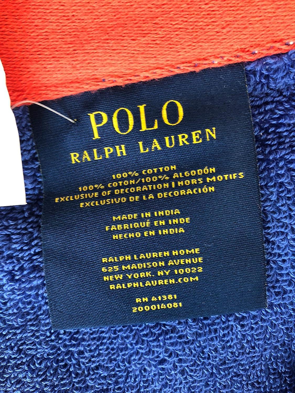 Ralph Lauren Polo - Toalla de Playa, diseño de Rayas, Color Blanco ...