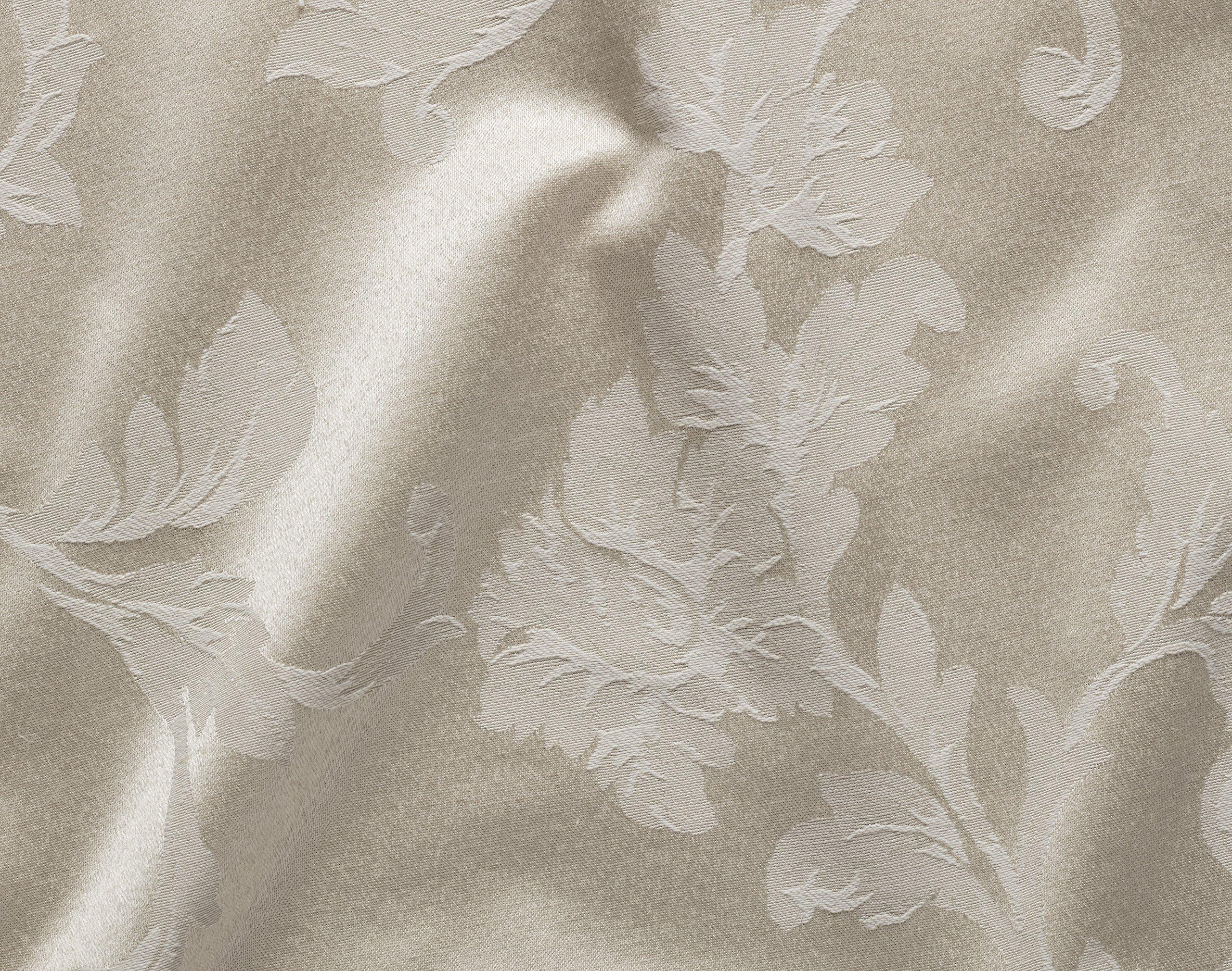 Benson Mills Harmony Scroll Set of 4 Napkins (Birch, 18'' x 18'' Napkin) by Benson Mills (Image #2)