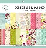 "ColorBok 68230B Designer Paper Pad Delilah, 12"" x 12"""