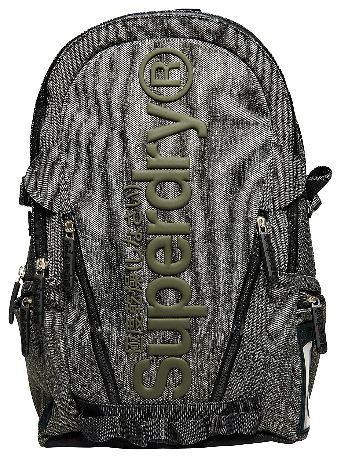 Tenacitee Living In New Jersey with Iowa Roots Grey Brushed Canvas Messenger Bag