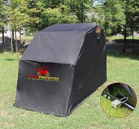 Abri Moto Housse De Protection Pour Moto StormProtector/® Imperm/éable En Acier Tremp/é