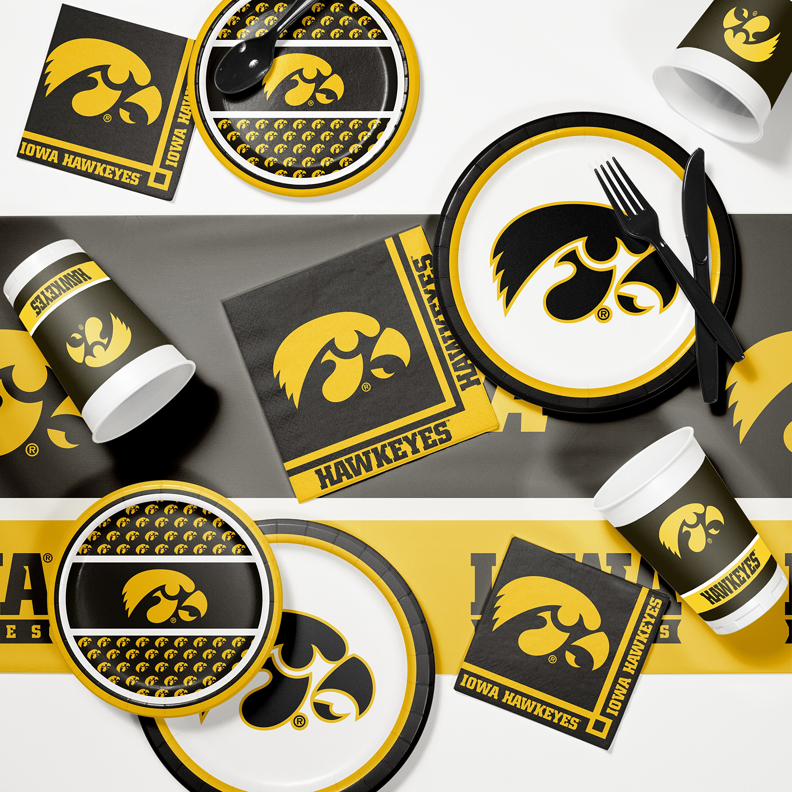 University of Iowa Game Day Party Supplies Kit